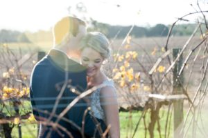 Marriage ceremony in the vineyards