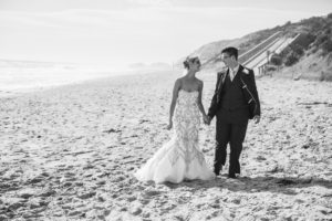 Marriage ceremony on the beach